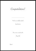50 Days Certificate