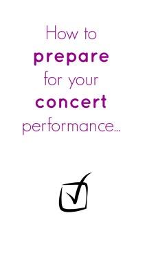 Concert Prep Pin