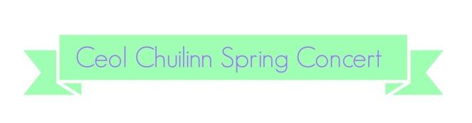 Spring Concert Banner